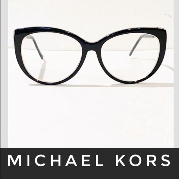 Auth Michael Kors black prescription glasses